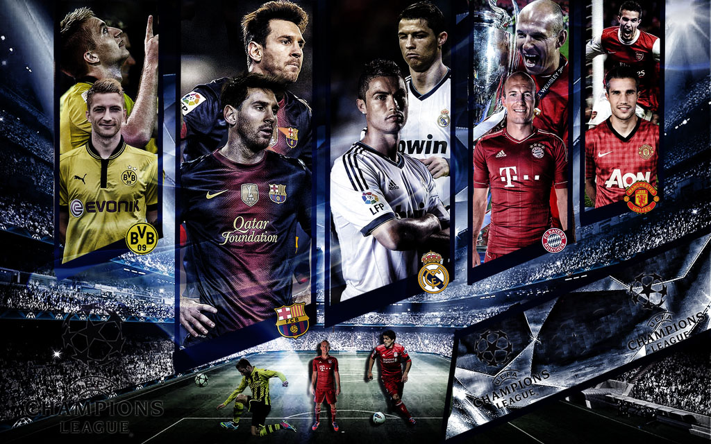 This Tournament Is Very Tough And The Player Who Play They Are Also Stronger UEFA Champions League HD Wallpaper