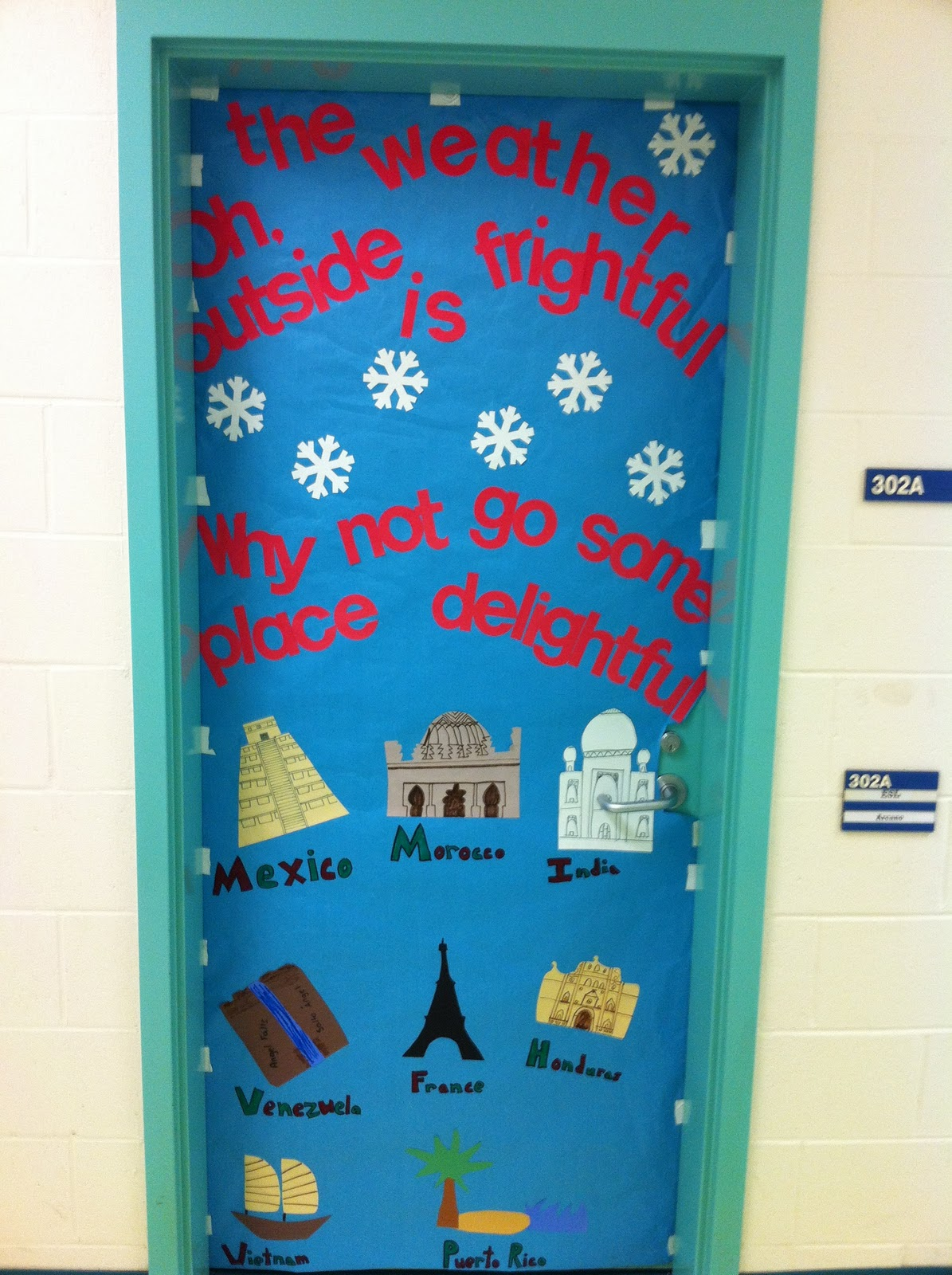 World History Classroom Decorations ~ Apex elementary art it s starting to look festive at