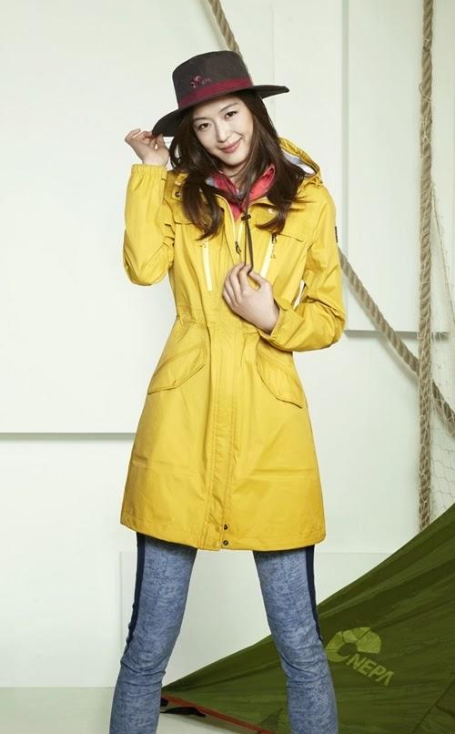 Jeon Ji Hyun - Nepa Spring/Summer 2014
