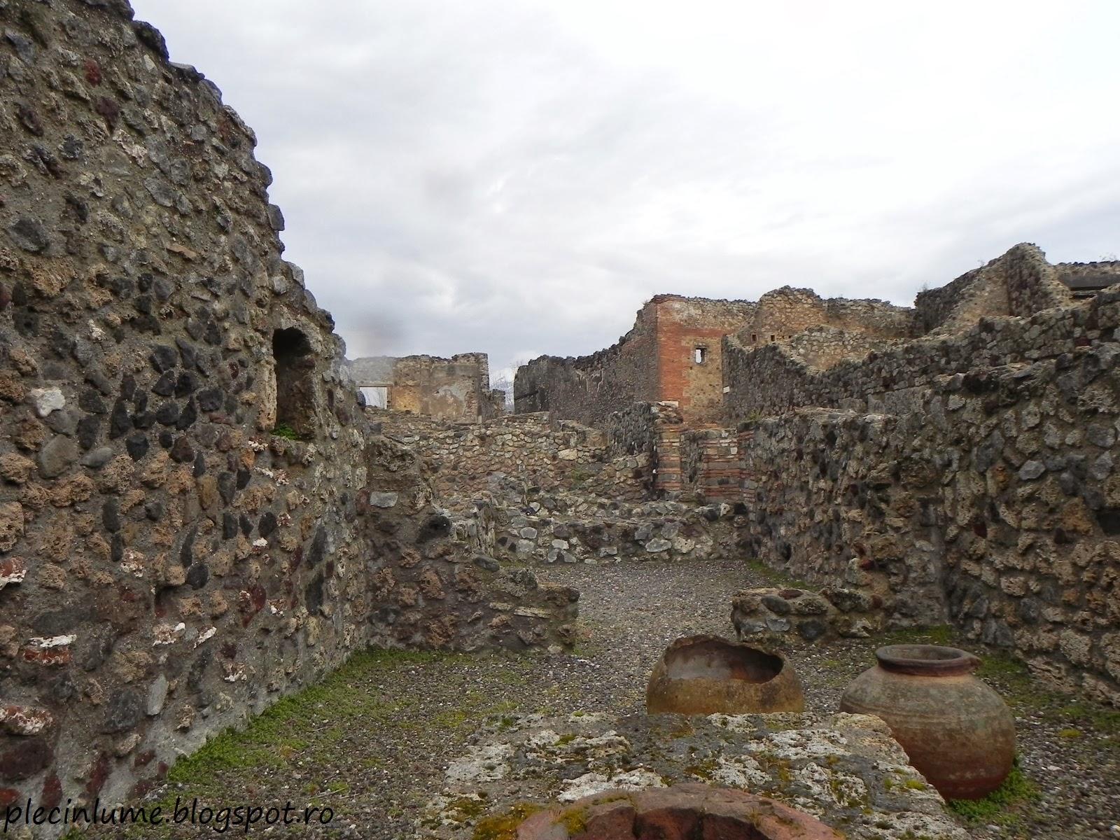 Ruinele de la Pompei