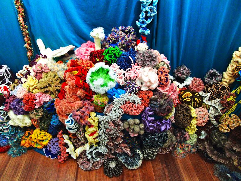 Feltasaurus: Crochet Coral Reef