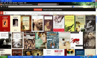 Novelas adquiridas en la Biblioteca, en este año 2013.