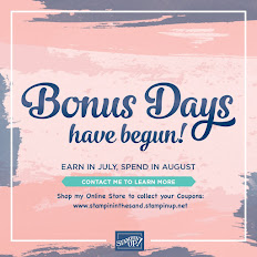 Earn Coupons In July - Redeem In August
