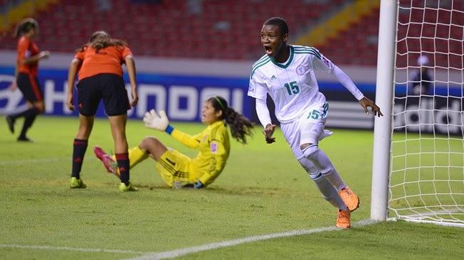 Copa Mundial Femenina Sub-17 Costa Rica 2014: Nigeria vs. México | Ximinia