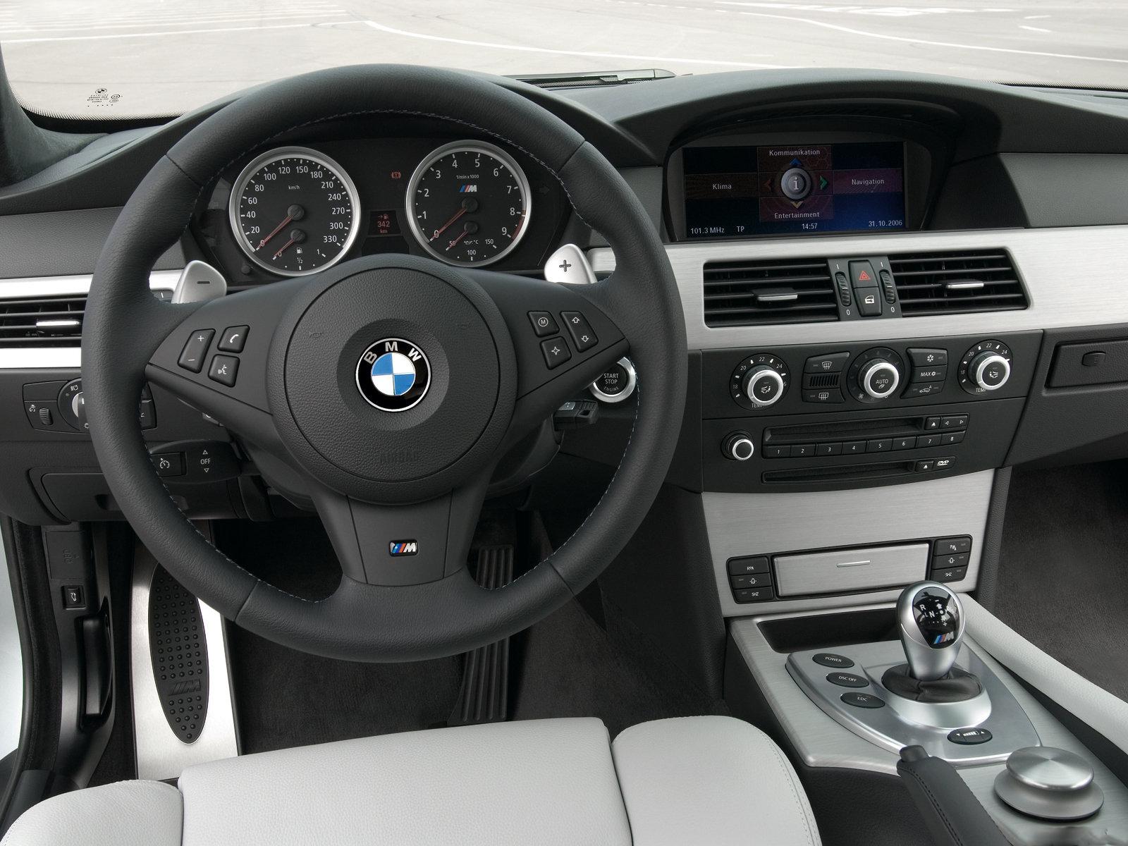 automotive database: bmw m5 (e60)