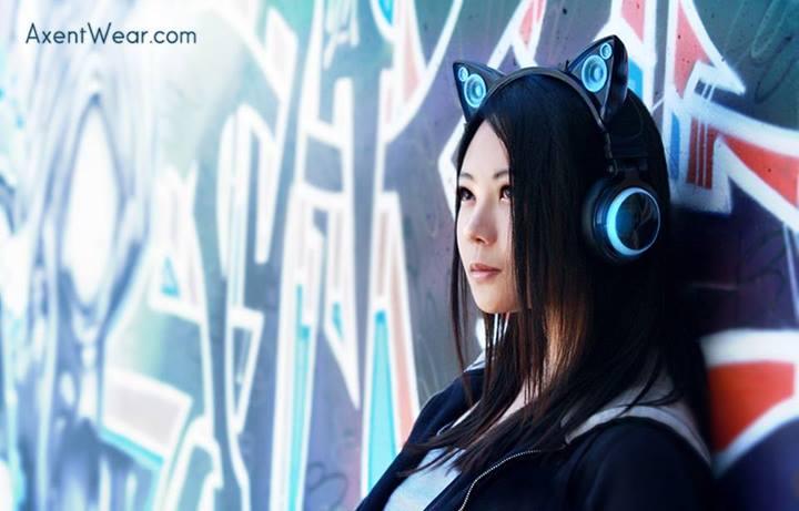 スピーカー付き、猫耳ヘッドフォンが可愛かったから紹介するー