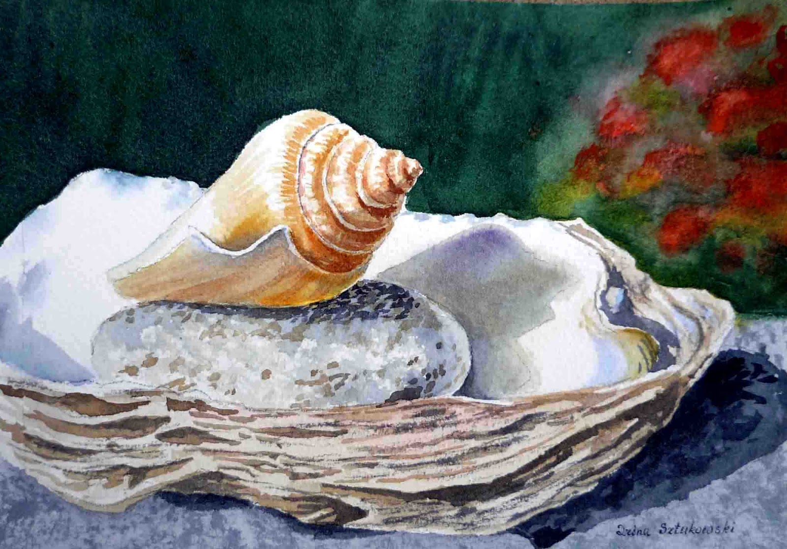 Famous Seashell Paintings