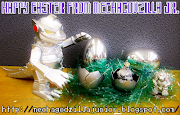 Happy Easter from MechaGodzilla Jr. Posted by Corey Bond at 8:28 AM happy easter