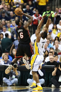 Miami Heat,Indiana Pacers,NBA,Finals,East finals 2013,Lebron James