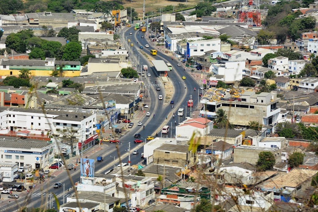 Cartagena Popa Hill traffic