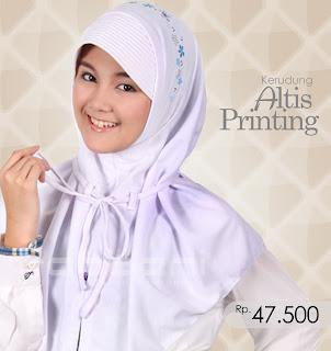 Kerudung Rabbani Altis Printing