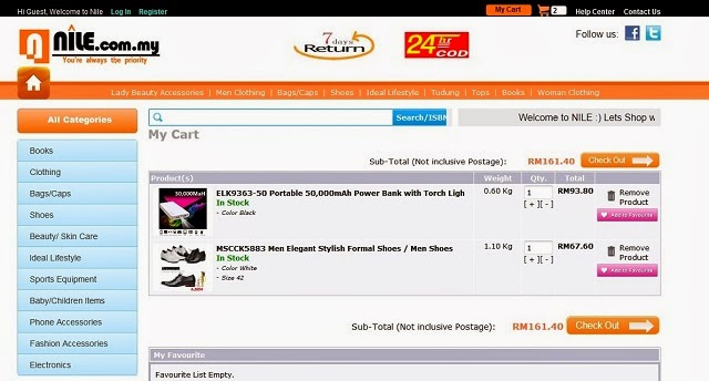 Nile.com.my Malaysia Online Shopping Portal