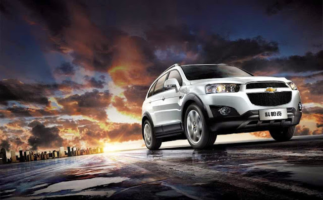 Gambar Mobil All New Chevrolet Captiva