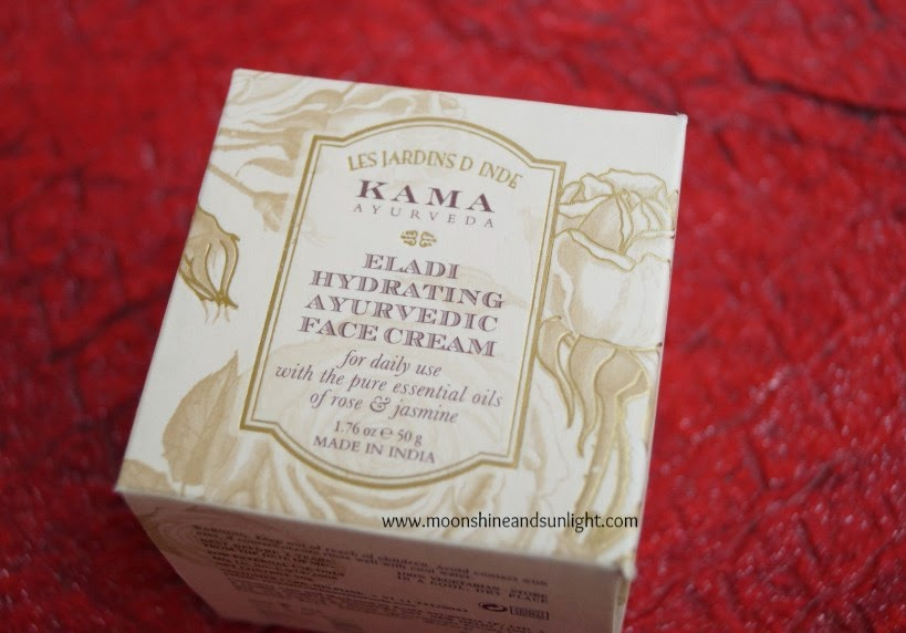 KamaAyurveda Eladi Hydrating Ayurvedic Face Cream || 100% Vegan | Paraben free || Review