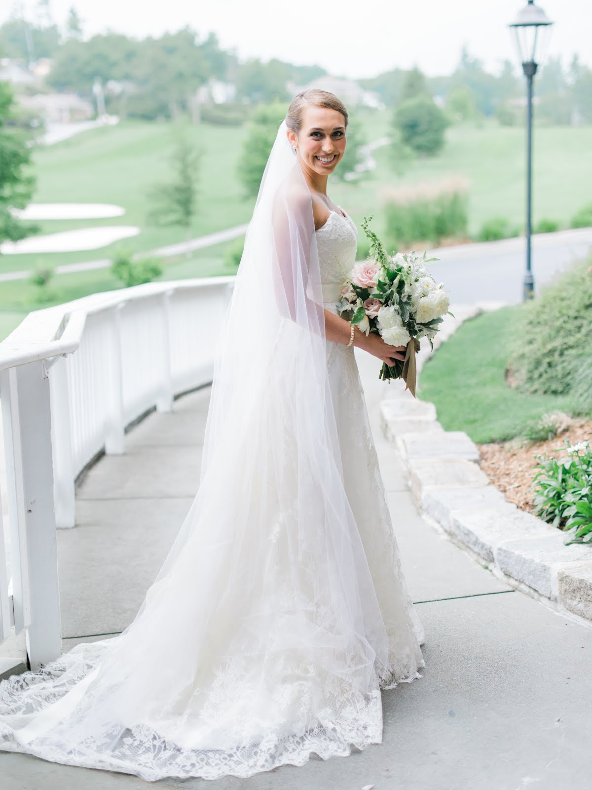 Sarah and Ben at the Blowing Rock Country Club