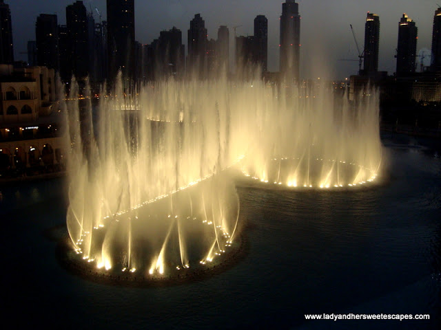 Dubai Fountain Best View