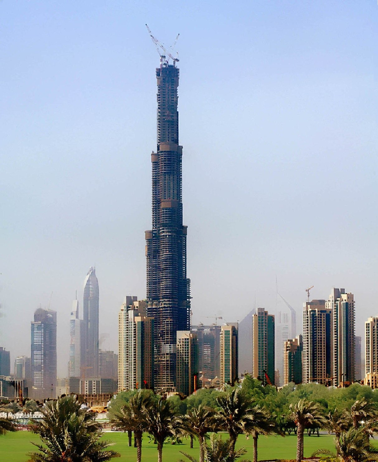 World Visits Dubai Tallest Building In The World