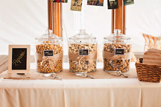KuKuRuZa popcorn served as wedding treats - Posted by Kent Buttars, Seattle Wedding Officiant