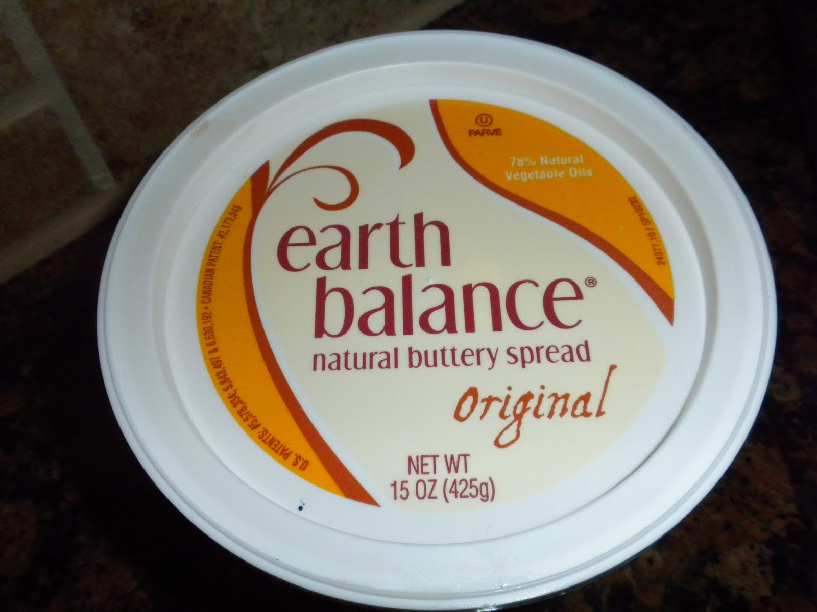 Earth Balance Natural Buttery Spread as seen on Substance of Living
