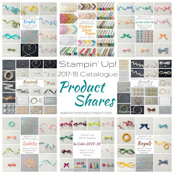 2017-18 Stampin' Up! Annual Catalogue Product Shares