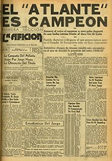 Atlante Campeón 1946-1947