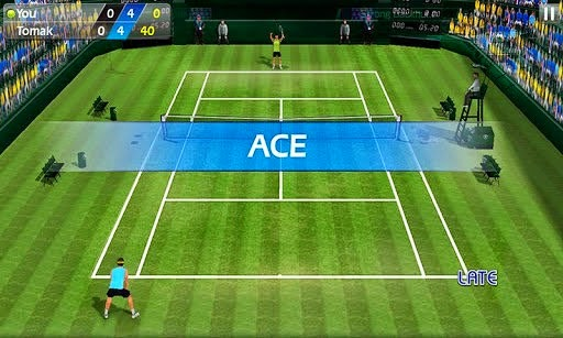 Flick Tennis 1.2 full apk