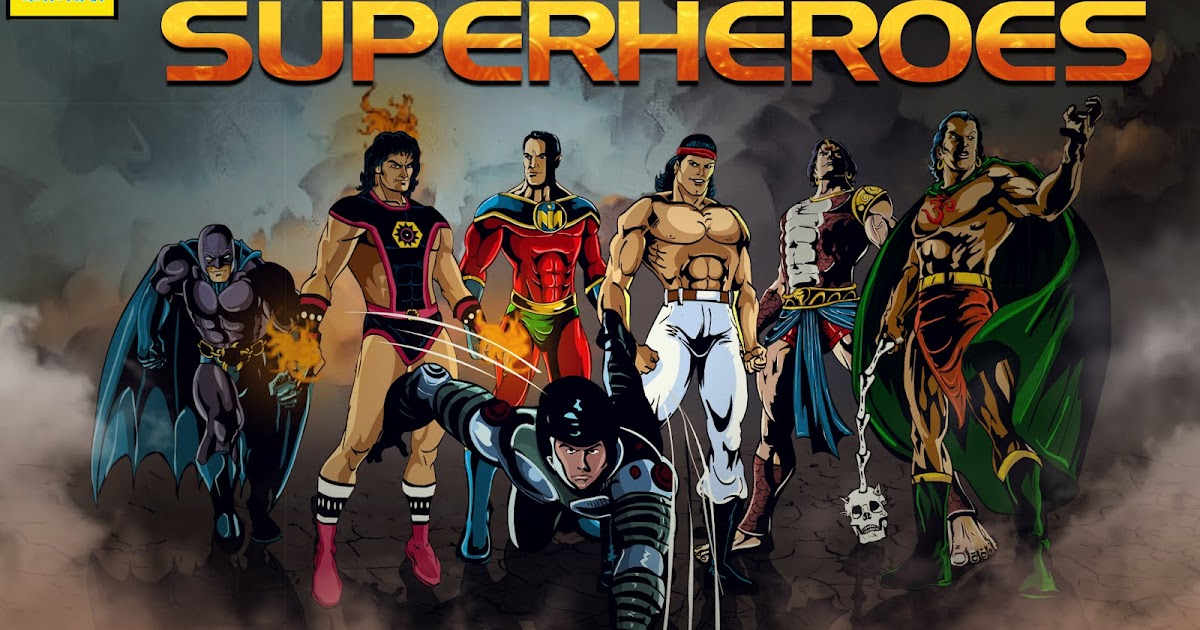 Superhero Artwork Tulsi Comics All Superheroes Wallpaper