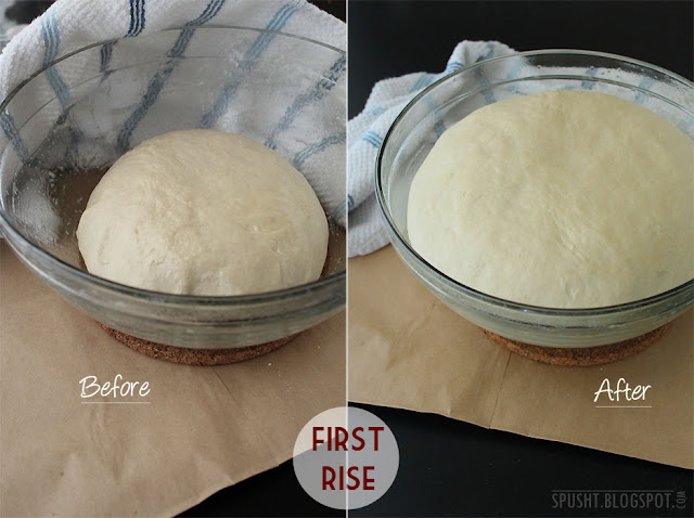 bread dough first rise