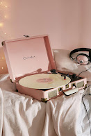 Cool Pink Crowley Turntable