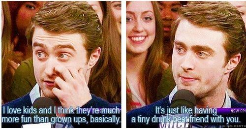 Daniel Radcliff Quotes About Kids