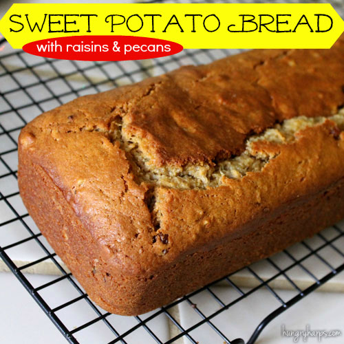 Hungry Harps: Sweet Potato Bread with Raisins & Pecans