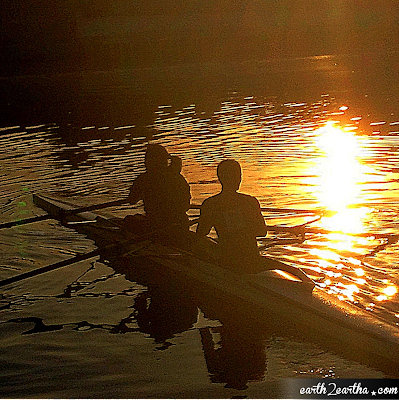 Rowing at the Pasig River
