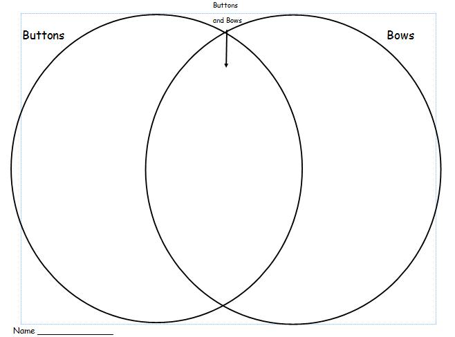 first grade shenanigans  gingerbread venn diagram freebie