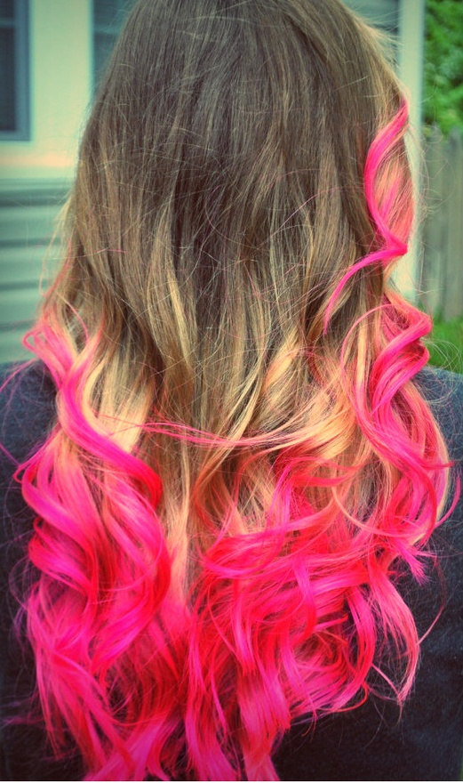 Bad Joan ...it's good to be bad!: Ombre Hair: Pink