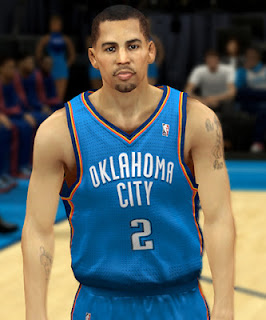 NBA 2K13 Thabo Sefolosha Cyberface Patch