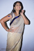 Actress Tanusha Photos in Saree at Present Love Audio-thumbnail-12