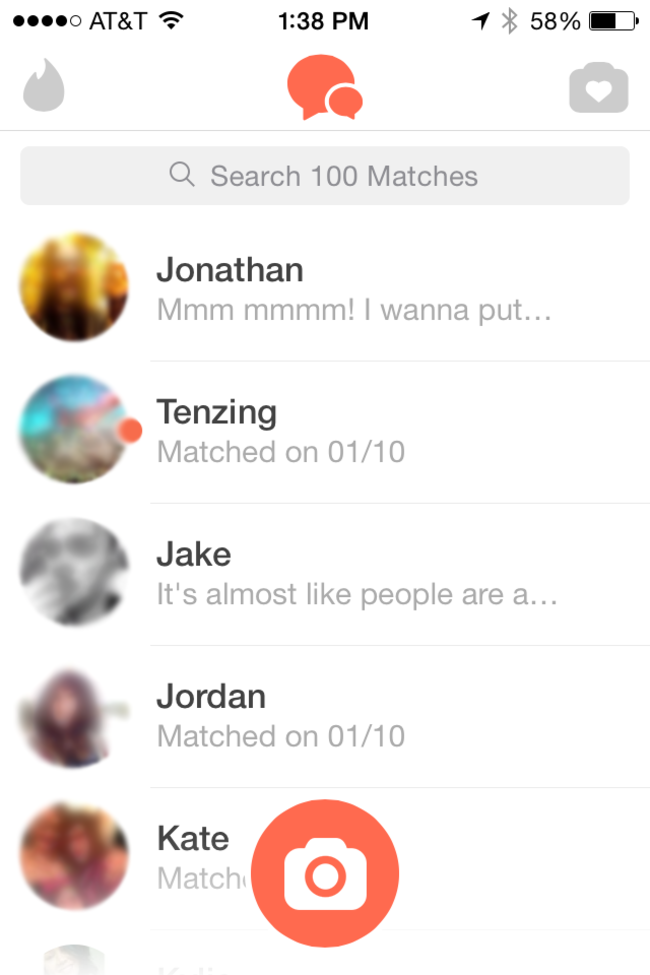 no matches on tinder