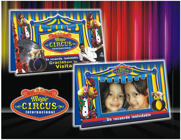 MAGIC CIRCUS porta foto