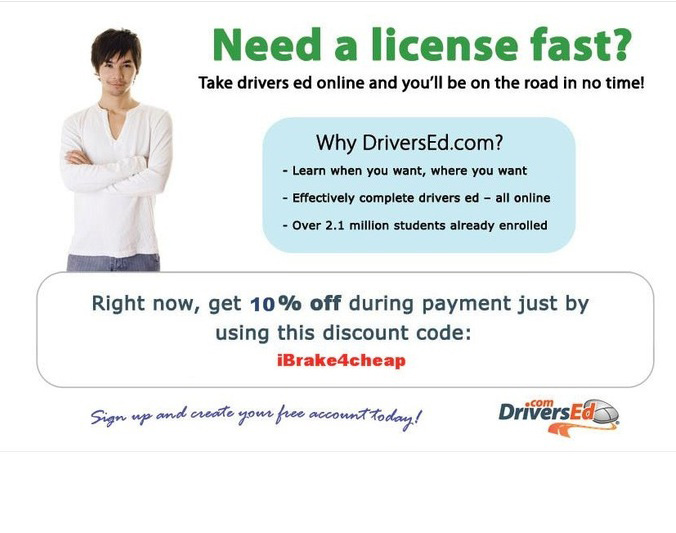 Coupon code driversed.com
