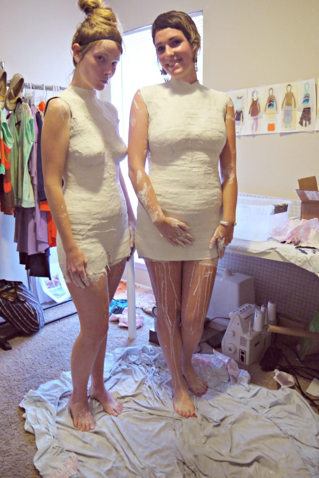 katastrophic: DIY Dress Form Part 1: Building the Mold