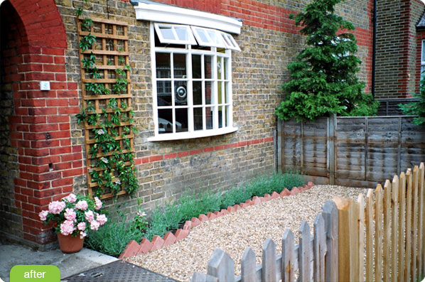 Garden design ideas landscaping layout tips for back for Small front garden
