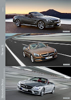 All New Model 2013 Mercedes-Benz SL-Class Roadster Cabriolet Press Official Picture Image Photo Media