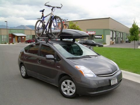 Prius Roof Rack >> Nice Rack Custom Roof Rack For A 2006 Toyota Prius