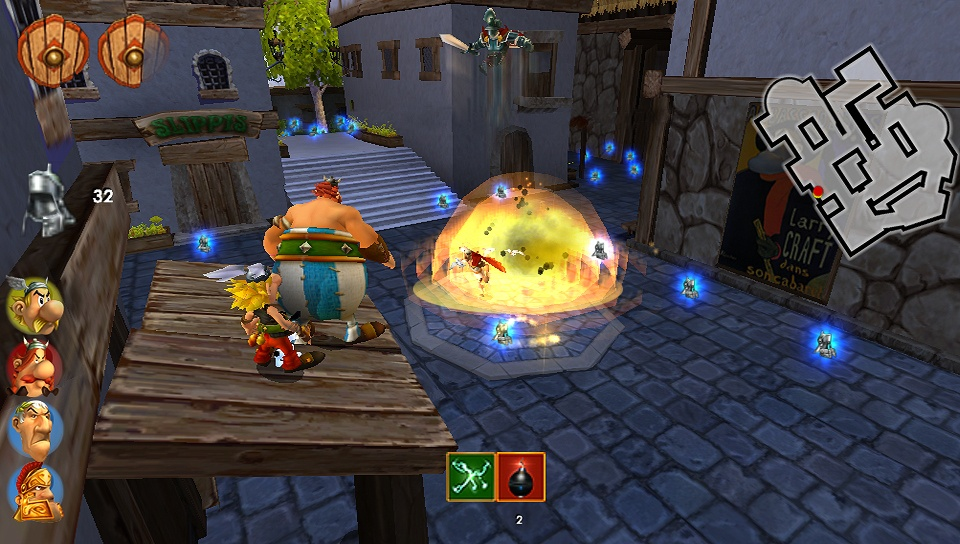Asterix & Obelix XXL 2: Mission WiFix Screenshot 2