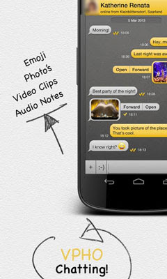 VPHO Free Calls, Video & Text (Android Apps)