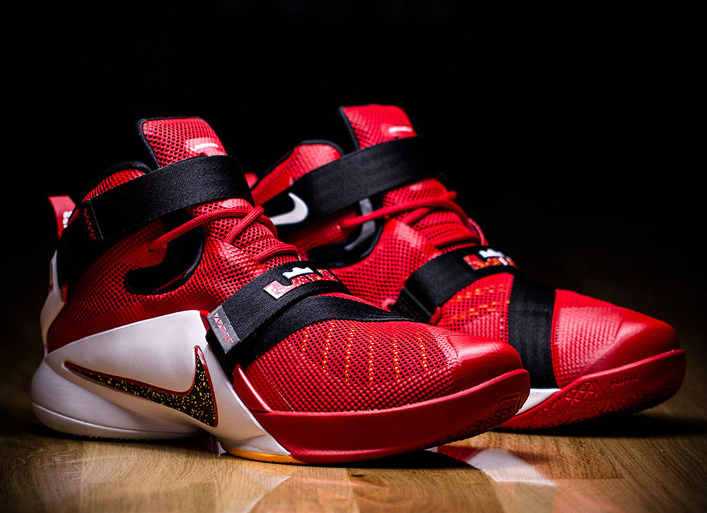Lebron has been known for wearing the Zoom Soldier series especially at  times when he doesn't feel like wearing his signature shoe.