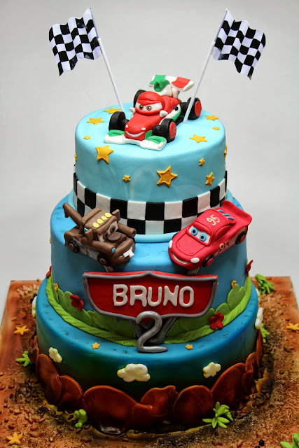 CARS 2 Birthday Cake for Boy in London