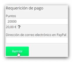 Myiyo solicitud de pago
