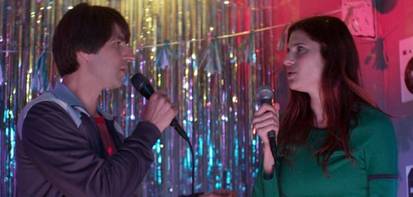Demetri Martin and Lake Bell in In a World...