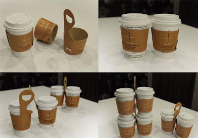 Creative and Cool Coffee Sleeves, Carriers and Holders (21) 6